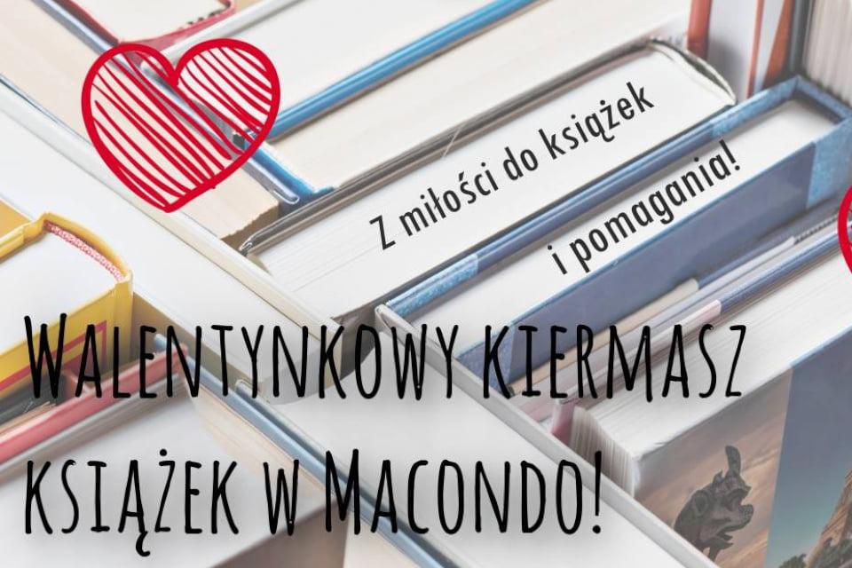 Z Miłości do książek i pomagania | Walentynkowy kiermasz książek