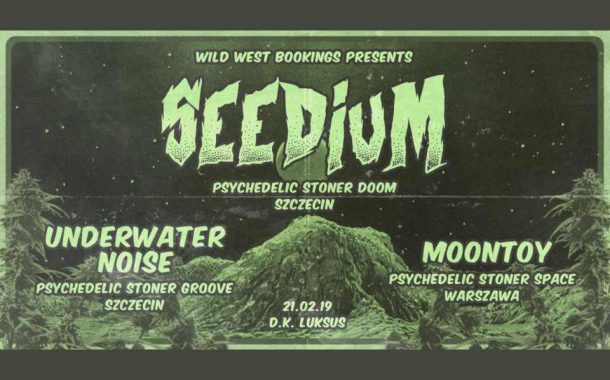 AWAKE TOUR 2019: Seedium / Moontoy / Underwater Noise