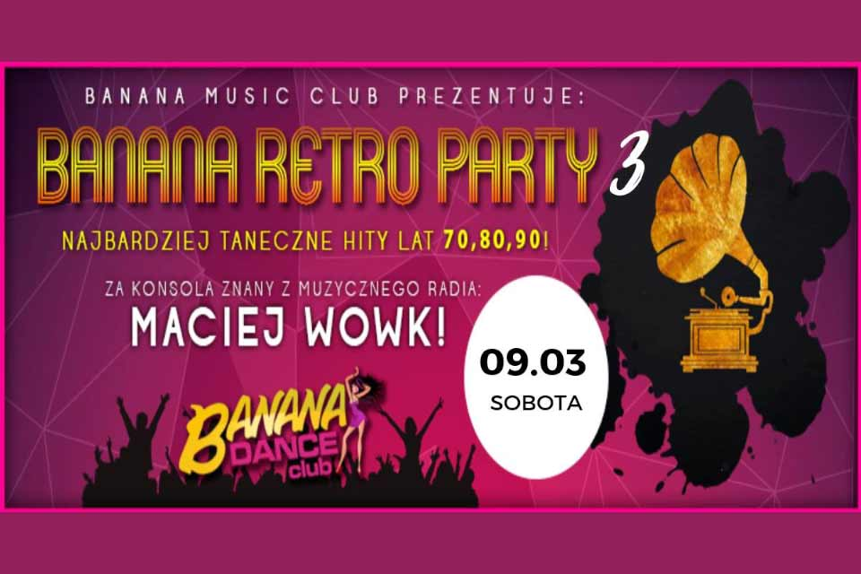 Banana Retro Party