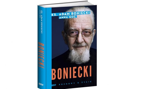 """Boniecki. Rozmowy o życiu"" ks. Adam Boniecki, Anna Goc"