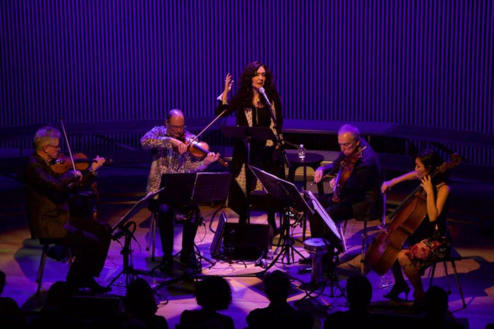 Kronos Quartet & Mahsa Vahdat | koncert
