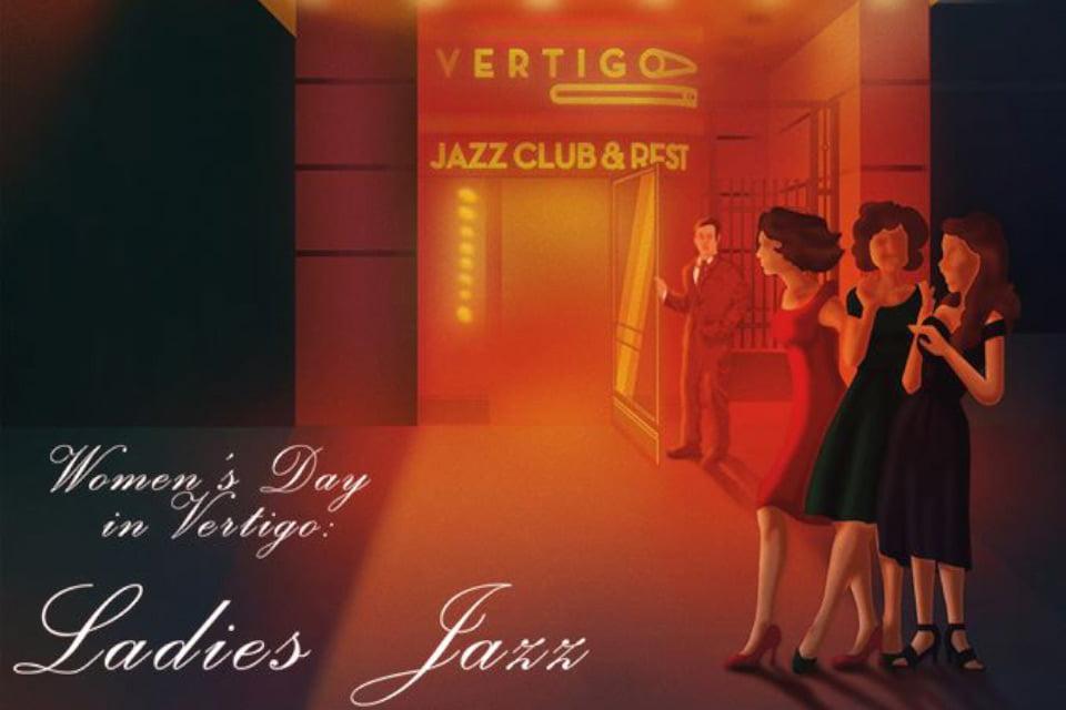 Women's Day in Vertigo: Ladies Jazz   koncert