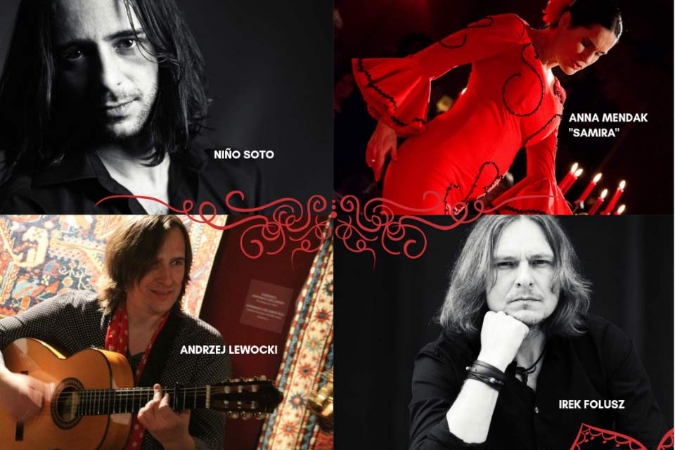 "Anna Mendak ""Samira"", Niño Soto, Andrzej Lewocki i Irek Folusz | koncert"