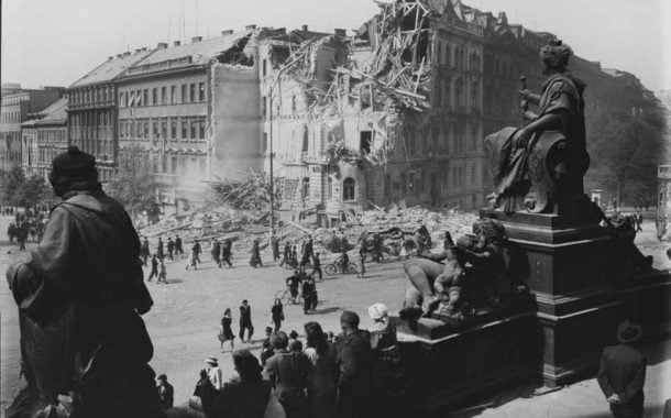 Topografia ruin. Praga 1945 - Josef Sudek | wystawa