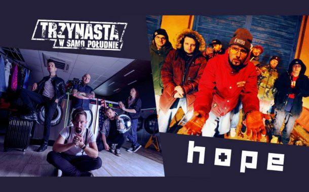 Trzynasta w Samo Południe, Hope, Mescalero | koncert
