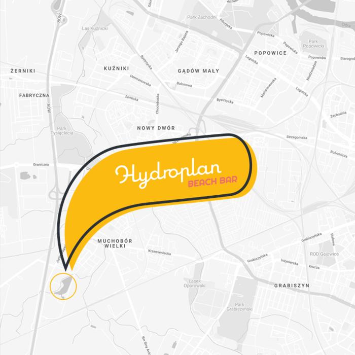 Hydroplan_mapa dojazdu
