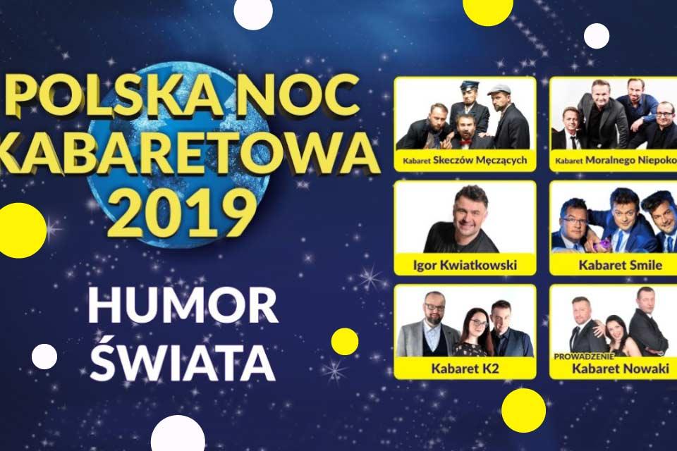 Polska Noc Kabaretowa 2019 | koncert (Wrocław)