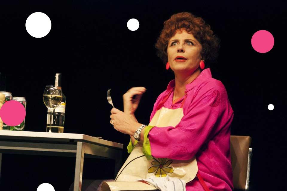 Shirley Valentine - Krystyna Janda | spektakl