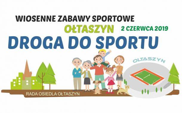 Wiosenne zabawy sportowe - boisko