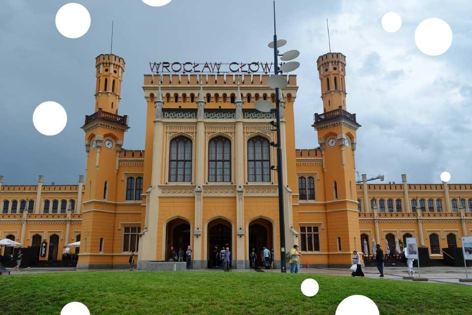 Dzień Dziecka na Dworcu Głównym we Wrocławiu