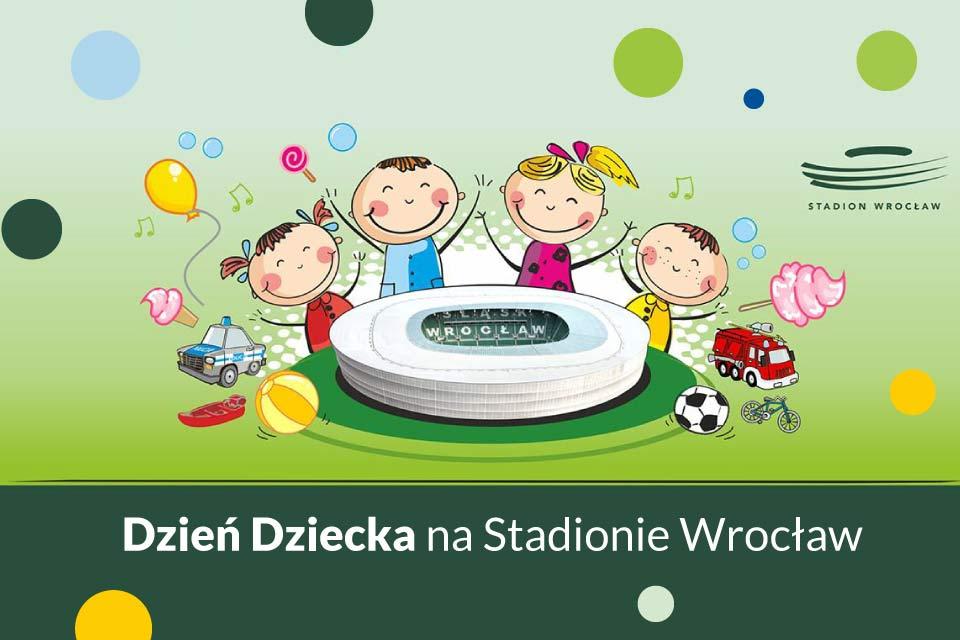 Dzień Dziecka na Stadionie Wrocław -
