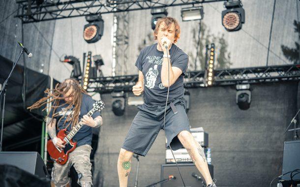 Napalm Death - koncert na Thanks Jimi Festival | fotorelacja