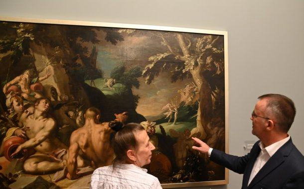 """Historia Apolla i Dafne"" Abrahama Bloemaerta w Muzeum Narodowym"