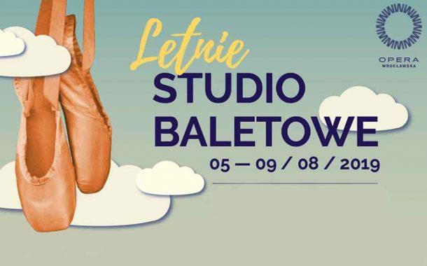 Letnie Studio Baletowe w Operze Wrocławskiej