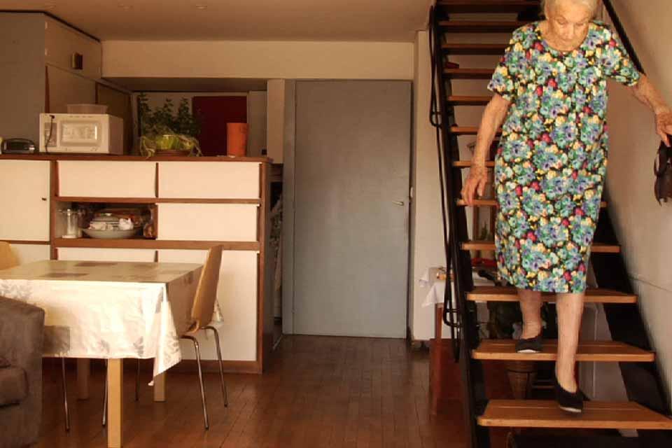 Babcia i Le Corbusier