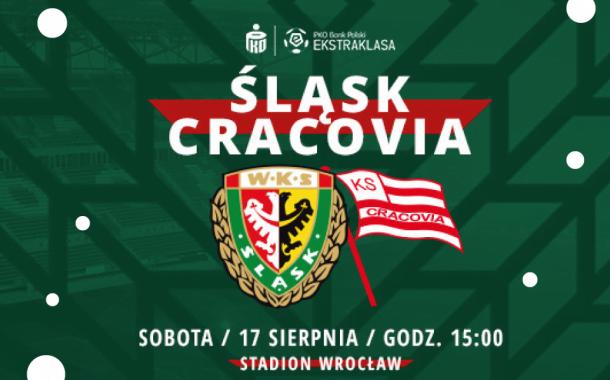 Śląsk Wrocław vs. Cracovia | mecz