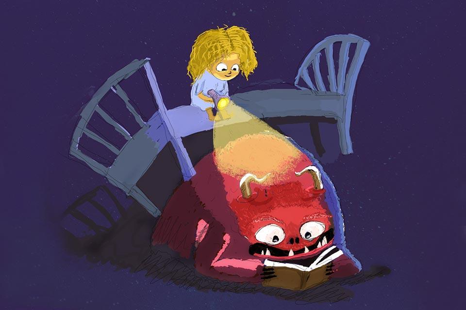 Strachy na lacha - warsztaty z pisania bajek dla dzieci