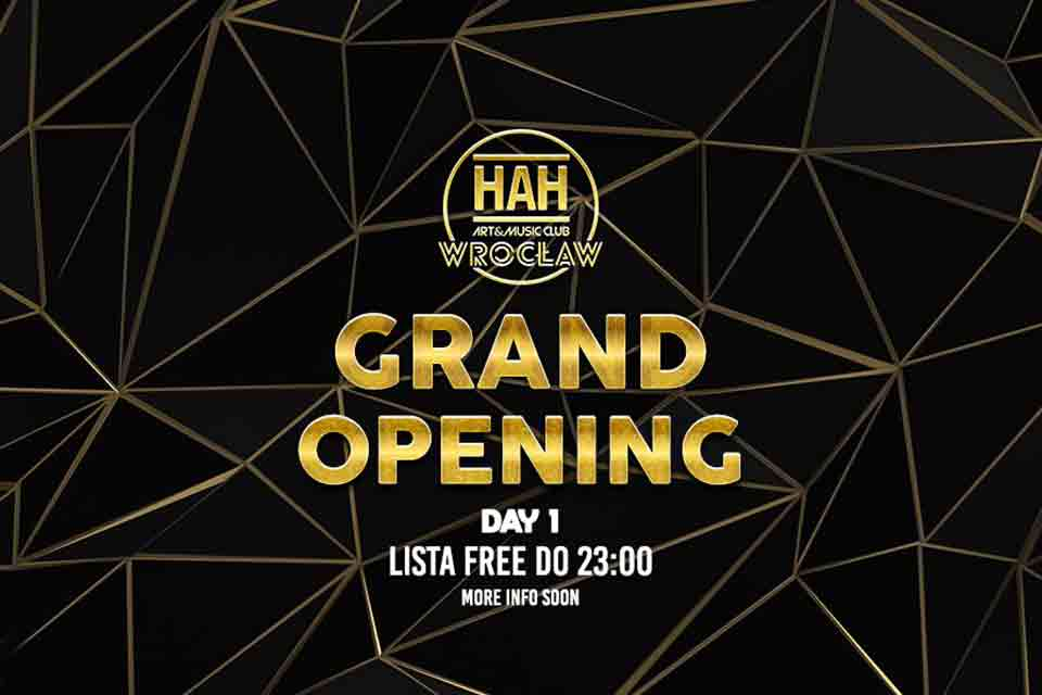 GRAND Opening DAY 1
