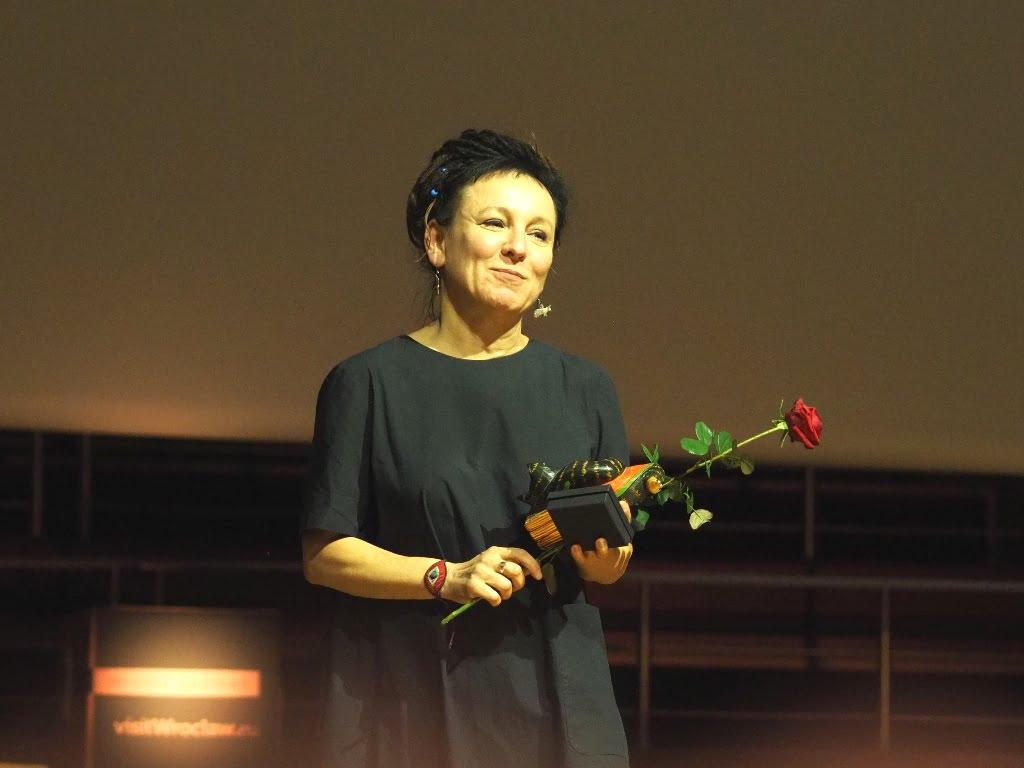 Olga Tokarczuk - Honorowa Obywatelka Wrocławia i Noblistka w NFM.