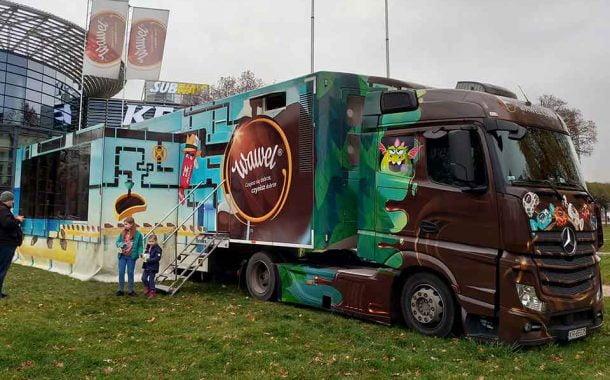Wawel Truck na Jarmarku Bożonarodzeniowym we Wrocławiu