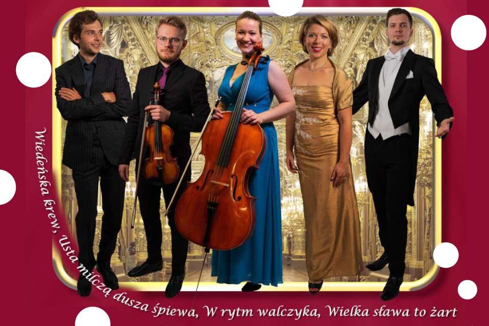 Ze Straussem przez Wiedeń | koncert operetkowy