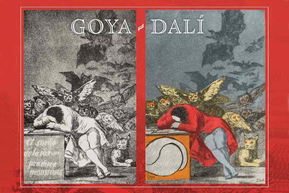 Goya, Dali - Gdy śpi rozum budzą się potwory | wystawa