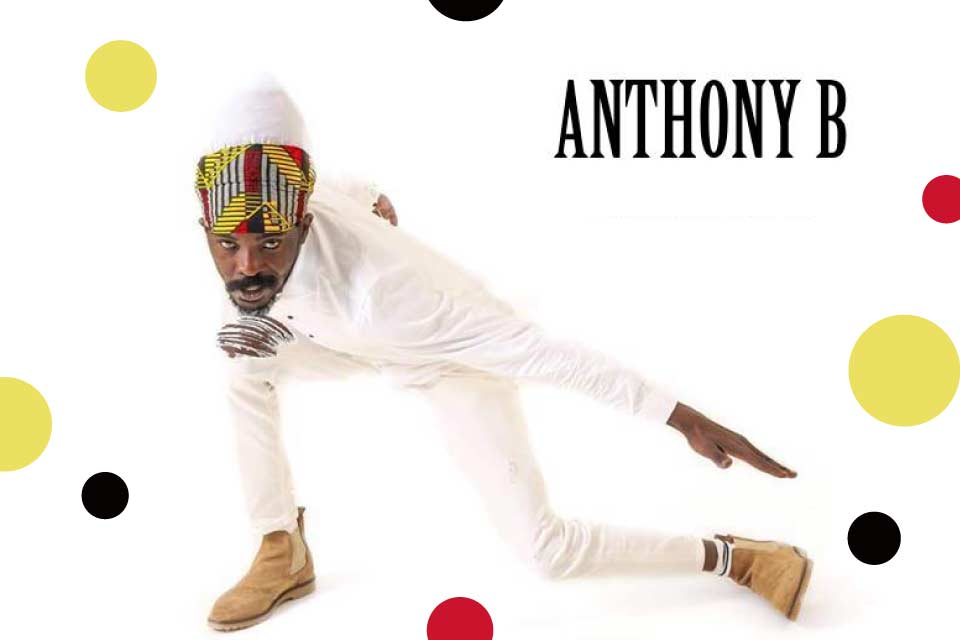 Anthony B | koncert - nowa data
