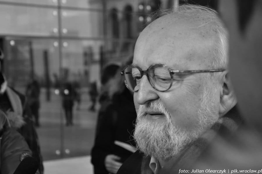 Krzysztof Penderecki w grudniu 2017 roku odwiedził NFM