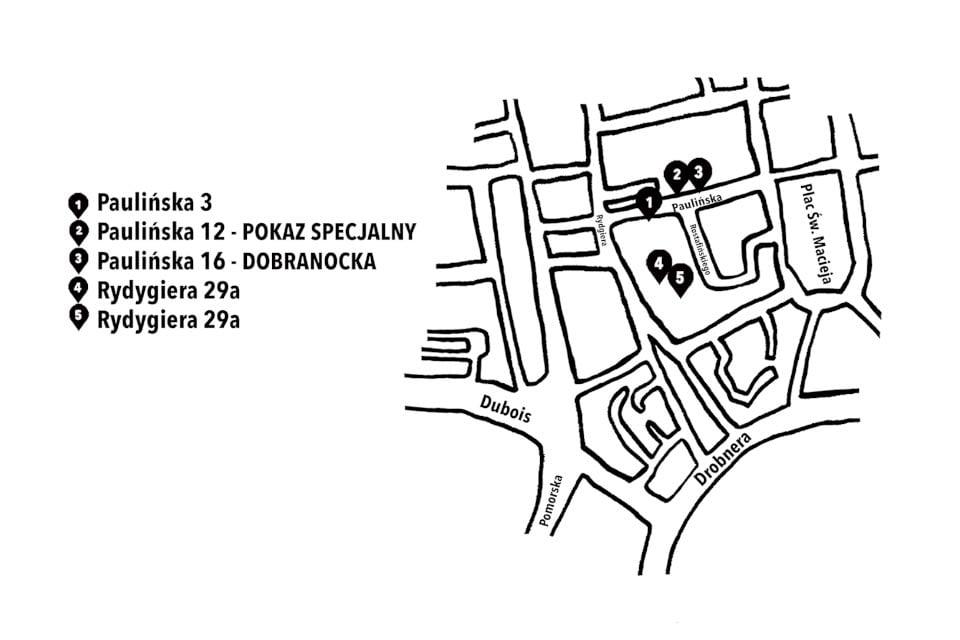 Kinomural 2020 mapa