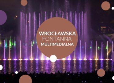 Pergola - Wrocławska fontanna multimedialna   sezon 2021