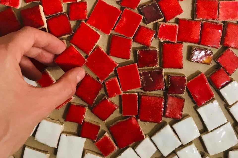 Kolektywna mozaika ceramiczna | warsztaty