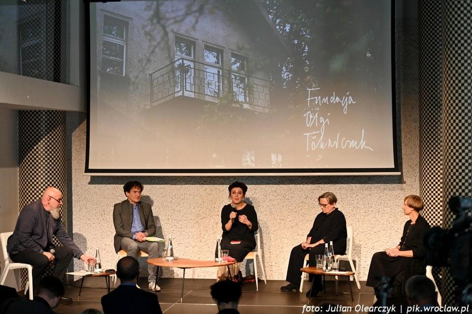 """Fundacja Olgi Tokarczuk, nowa książka i """"Jesień we Wrocławiu Mieście Literatury"""""""