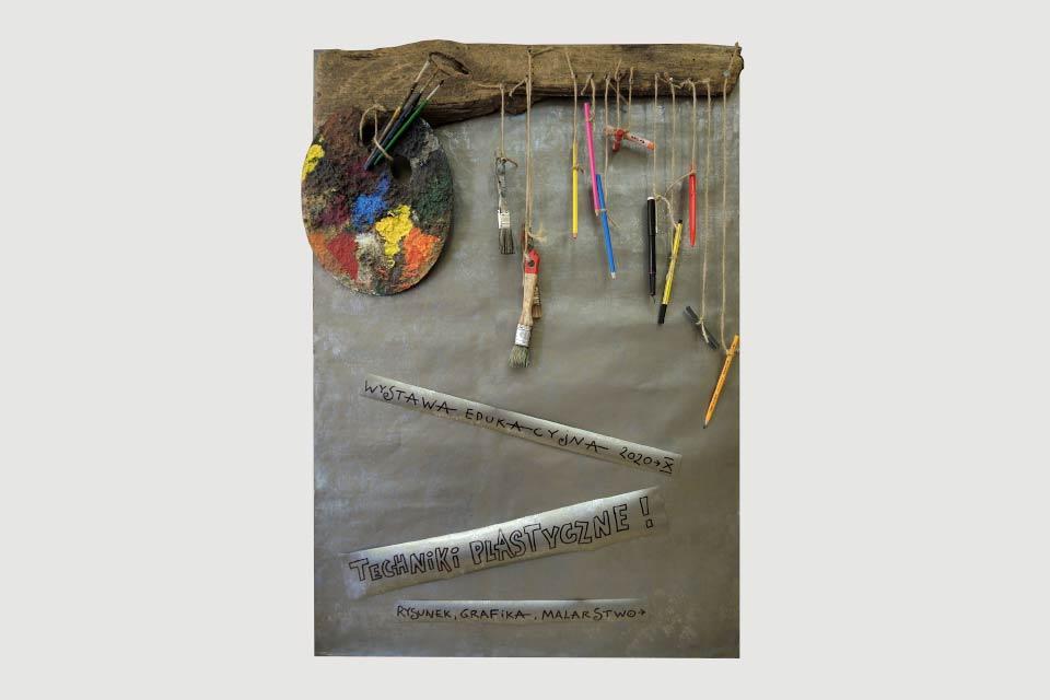 Techniki plastyczne   wystawa