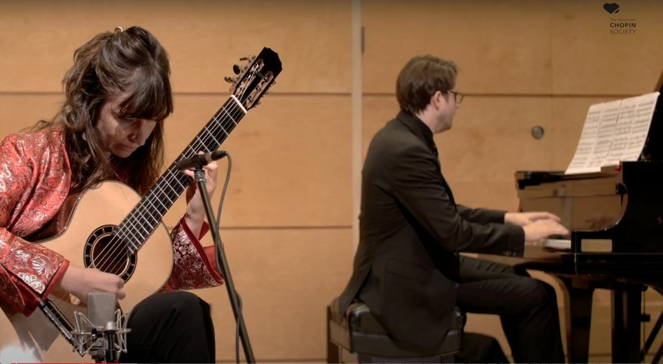 Kapitalne połączenie gitary z fortepianem   rozmowa