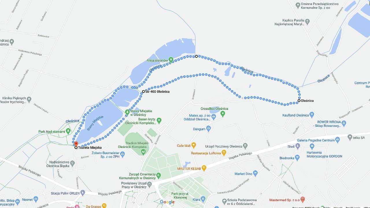 Na spacer i rolki w Oleśnicy
