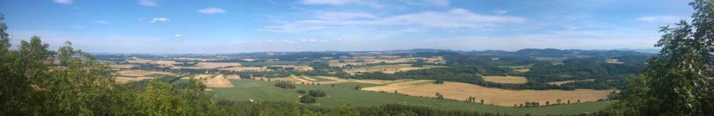 Ostrzyca - panorama