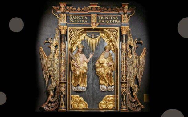 Święta Trójca naszym dziedzictwem   wystawa plenerowa