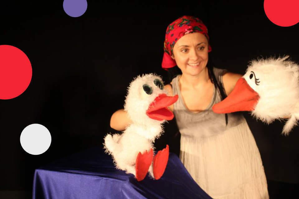 Brzydkie kaczątko   spektakl lalkowy